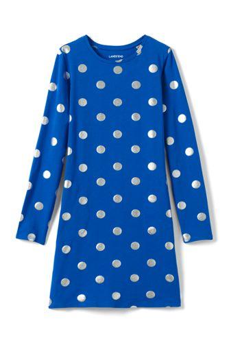 Gemustertes Jerseykleid für Baby Mädchen