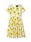 Kleid aus Baumwollsatin für kleine Mädchen