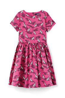 Girls' Sateen Twirl Dress