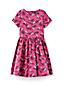 Kleid aus Baumwollsatin für große Mädchen