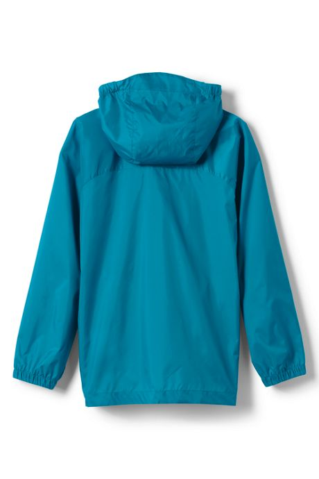 Girls Navigator Solid Rain Jacket