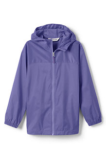 Girls' Navigator Packable Rain Coat