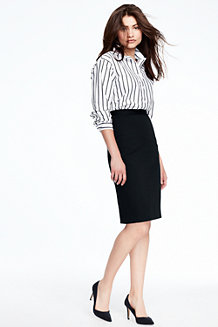 Women's Striped Boyfriend Shirt