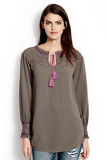 Women's Daphne Smocked Tunic