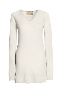 Women's Linen/Cotton Tunic Sweater