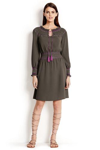 La Robe à Smocks Femme