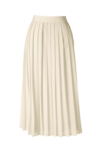 Women's Pleated Midi Skirt