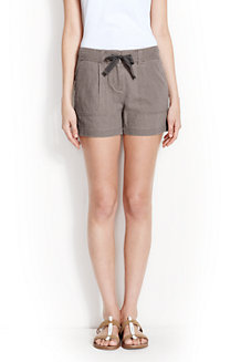 Women's Linen/Cotton Shorts