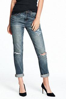 Lässige Slim Fit Indigo-Jeans