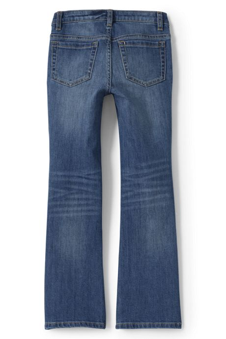 Girls Slim 5 Pocket Bootcut Jeans
