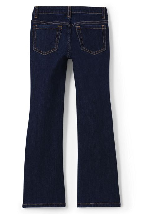 Girls 5 Pocket Bootcut Jeans
