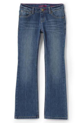 Little Girls' 5 Pocket Bootcut Jean