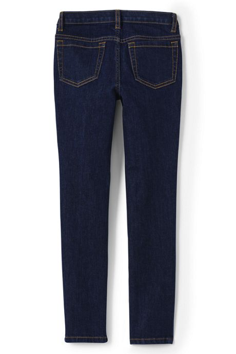 Girls Plus 5 Pocket Skinny Jeans