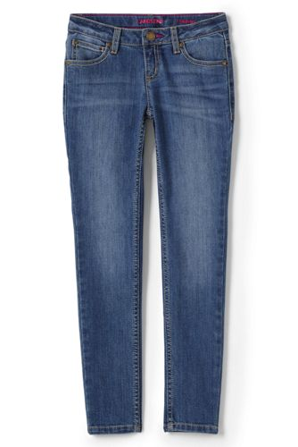 Little Girls' 5 Pocket Skinny Jeans