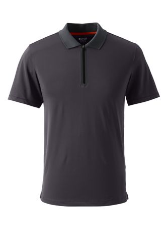 Activewear Zipper-Polo für Herren