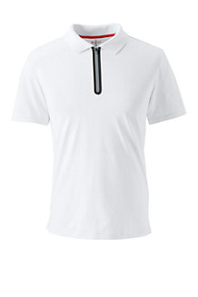 Le Polo Action Col Zip Homme