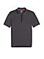 Le Polo Action Col Zip Homme, Stature Standard