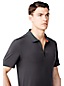 Men's Regular Sport Zip Polo