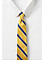 Men's Regular Preppy Stripe Hand-sewn Silk Tie