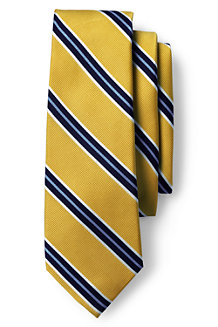 Men's Preppy Stripe Hand-sewn Silk Tie