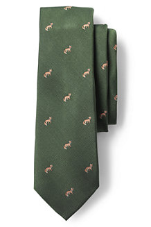 Men's Regular Sly Fox Hand-sewn Silk Tie