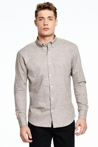 Donegal-Baumwollhemd für Herren