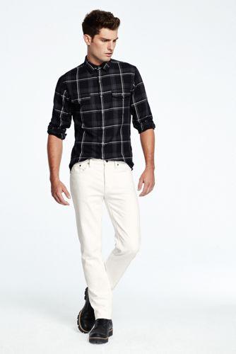 Men's Yarn-dye Twill Shirt