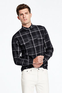 Men's Yarn-dye Twill Shirt
