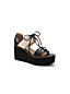 Women's Laced Platform Sandals