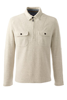 Men's Brushed Half-zip Pullover
