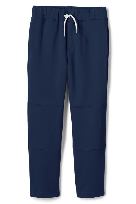 School Uniform Little Boys Iron Knee Classic Sweatpants