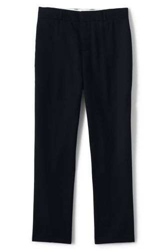 Boys' Hopsack Wool Trousers