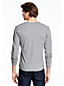 Men's Striped Jersey Henley