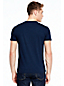 Men's Stripe Crew Neck T-shirt