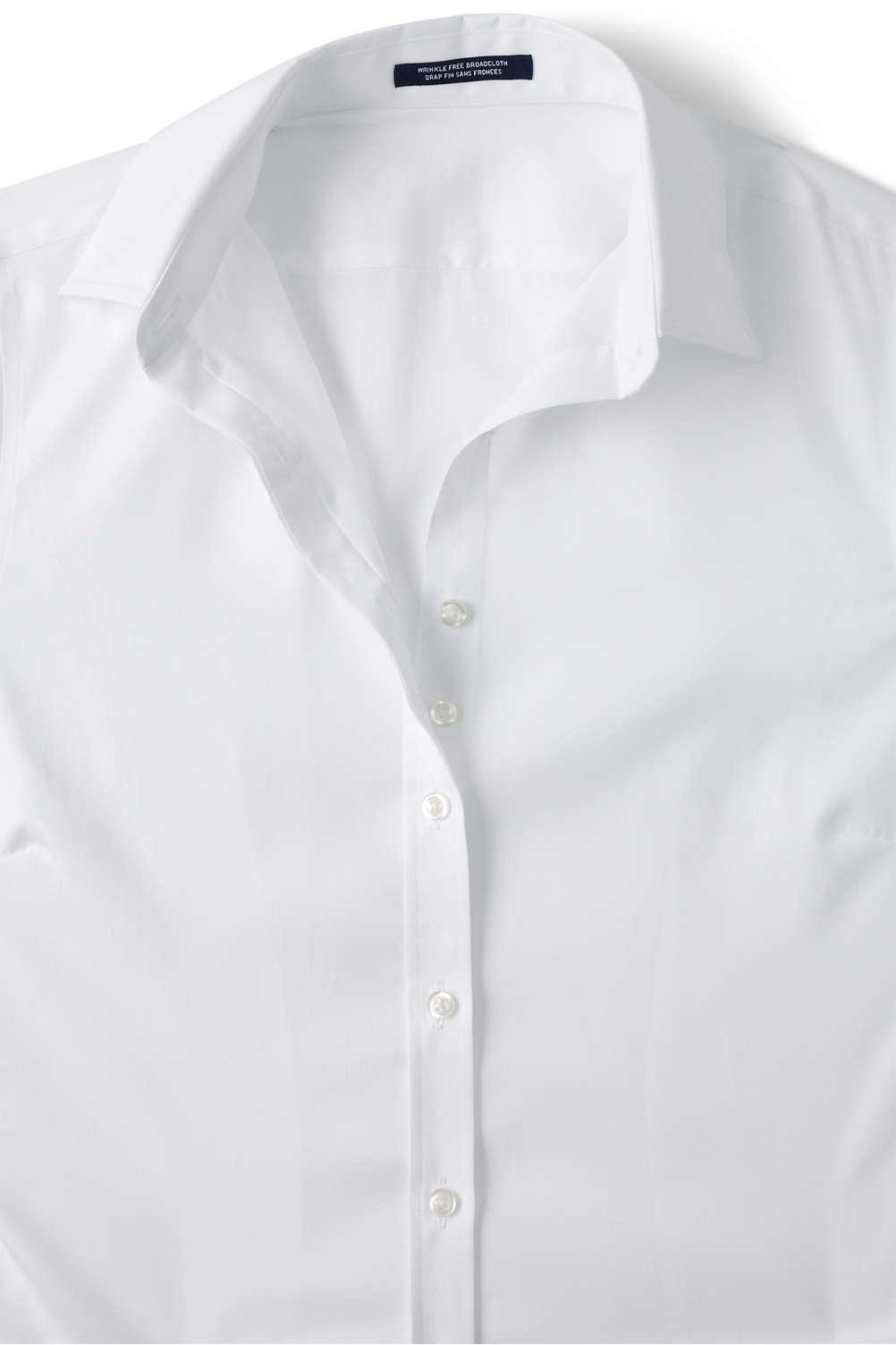 School Uniform Womens Long Sleeve Ultimate Dress Shirt From Lands End