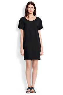 Women's Crepe T-Shirt Dress
