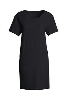 レディス・CANVAS・クレープ・Tシャツ・ドレス