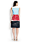 Women's A-line Sleeveless Block Stripe Dress