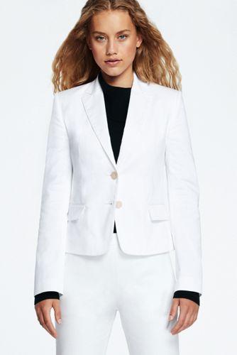 Women's Cropped Refined Blazer