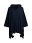 Women's Cotton/Cashmere Hooded Poncho