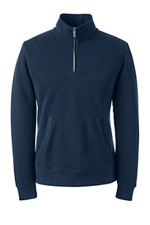 Men's Serious Sweats Zip-neck Sweatshirt
