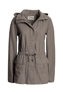 Women's Military Parka Jacket