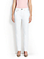 Women's Slouchy White Slim Jeans