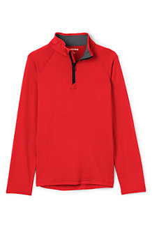 Boys' Long Sleeve Active Half Zip Top