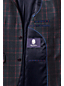 Men's Regular Glen Plaid Wool Blazer
