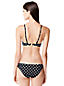 Women's Polka Dot Bandeau Bikini Top