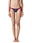 Le Bas de Bikini à Pois et Broderie, Femme Stature Standard