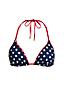 Triangel-Bikinitop, Gepunktet