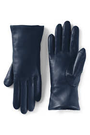 Women's EZ Touch Screen Cashmere Lined Leather Gloves