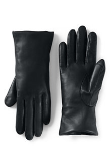 Women's Luxe Sheepskin Leather EZ Touch Gloves